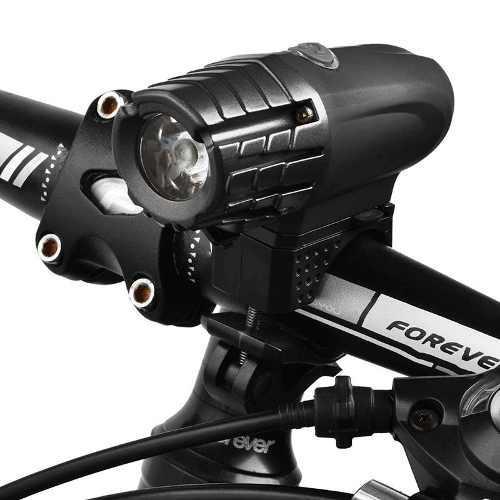 Lampara Luz Delantera Frontal Bicicleta Led Recargable Usb