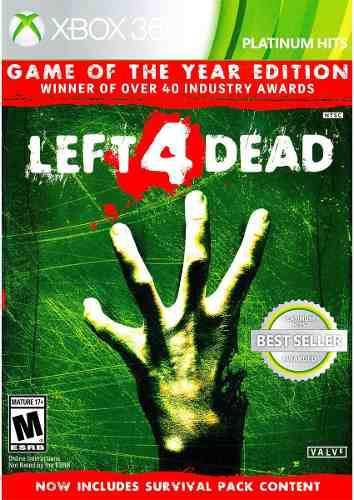 Left 4 Dead Game Of The Year Edition Para Xbox 360 A Meses