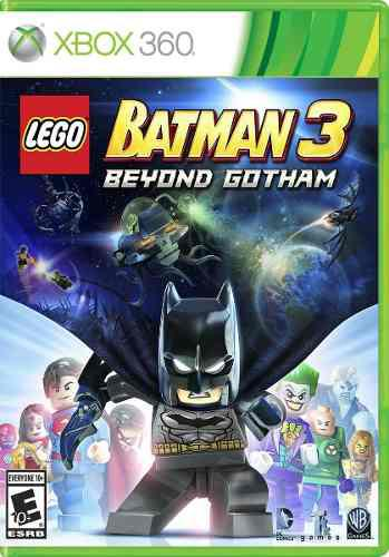Lego Batman 3 Xbox 360 Original Nuevo Y Sellado (d3 Gamers)