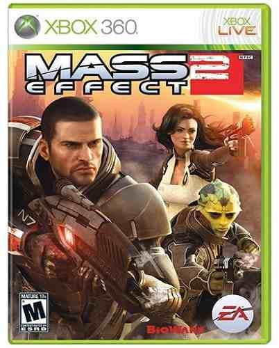 Mass Effect 2 Xbox 360 Nuevo Y Sellado Juego Videojuego