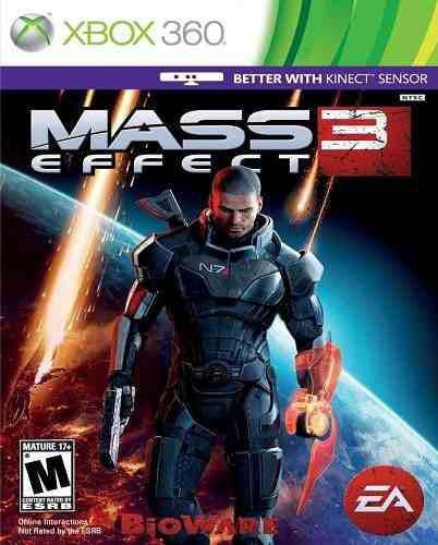 Mass Effect 3 Xbox 360 Nuevo Y Sellado Juego Videojuego