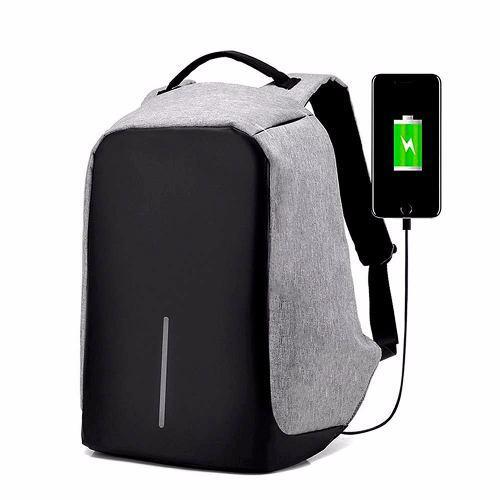 Mochila Antirrobo Impermeable Laptop Tablet + Bateria Envio