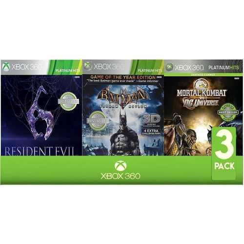 Paquete De 3 Videojuegos Xbox 360 Xbox