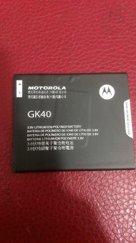 Pila Bateria Motorola Gk40 Moto G4 Play Y G5 E4