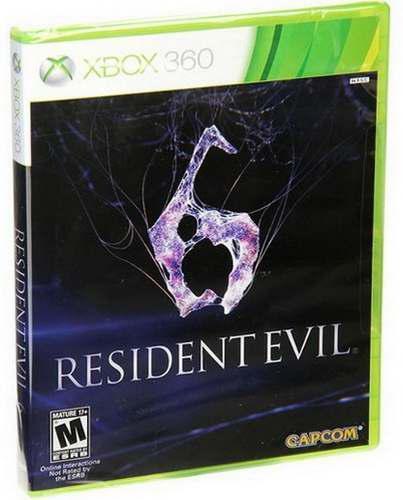 Resident Evil 6 Xbox 360 Nuevo Y Sellado Juego Videojuego