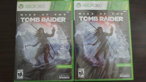 Rise Of The Tomb Raider Xbox 360 Nuevo Sellado