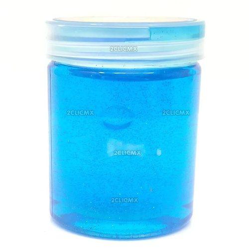 Slime Diamantina Unicornio Azul 1 Pieza
