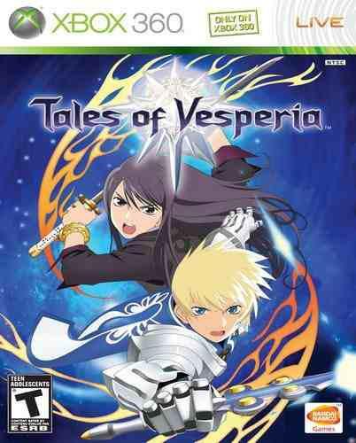 Tales Of Vesperia Xbox 360 Nuevo Y Sellado Juego Videojuego