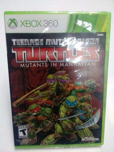 Teenage Mutant Ninja Turtles Mutants In Manhattan.-x360