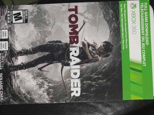 Tom Raider Para Xbox 360 Descargable