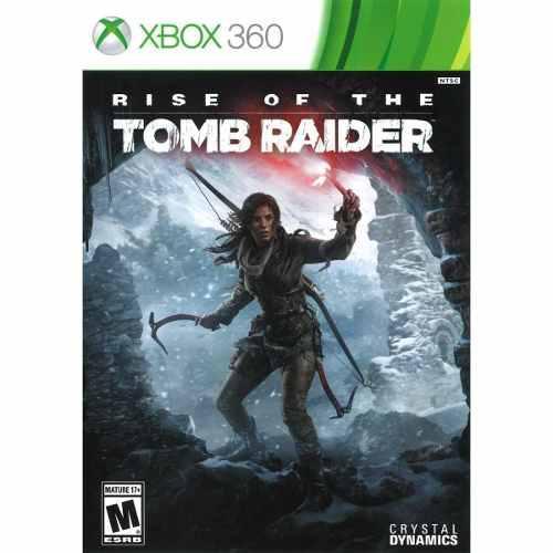 Tomb Raider Rise Of The Xbox 360 Nuevo Sellado Fisico