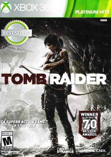 Tomb Raider Xbox 360 Platinum Hits Nuevo En Karzov