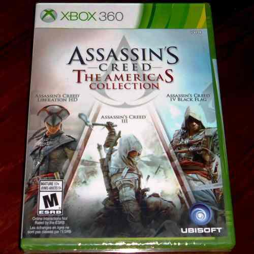 Videojuego Assassin's Creed The Americas Collection Xbox 360