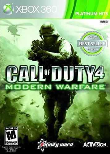 Videojuego Call Of Duty 4 Modern Warfare, Edición Juego