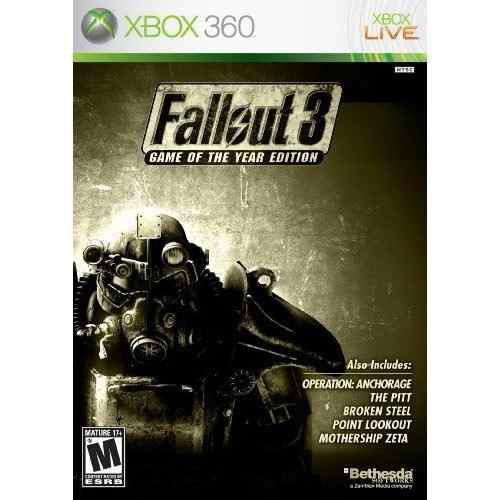 Videojuego Fallout 3: Juego Edicion Del Año (xbox 360)
