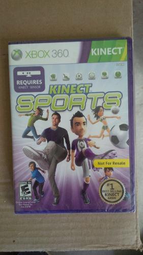 Videojuego Juego Xbox 360 Kinect Sports + Juego De Regalo