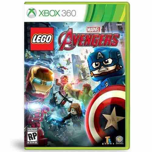 Videojuego Xbox 360 Lego Marvel Avengers Nuevo En Español