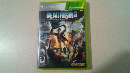 Xbox 360 Deadrising 1 Videojuego Capcom Juego Zombis