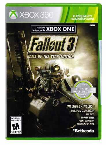 Xbox 360 Fallout 3 Game Of The Year Edition Nuevo Factura!!