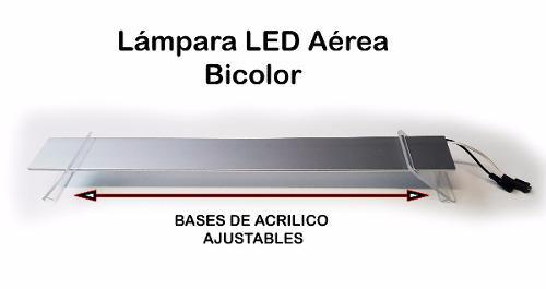 50cm Lámpara Led Aérea Bicolor Acuario Apagadores Manuales