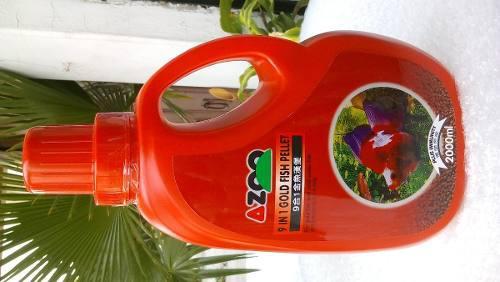 Azoo 9 In 1 Goldfish Pellet Alimento Peces Japones 1 Kg