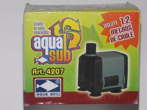 Bomba De Agua Aquakril 4207 90cms Acuario Fuentes Pecera