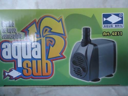 Bomba De Agua Sumergible 800l/h 1.6m Pecera Fuente Etc