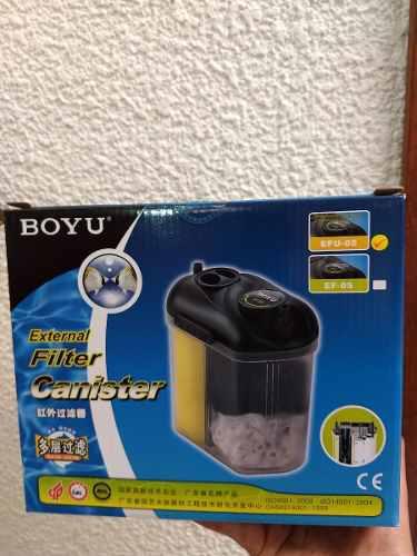 Boyu Efu-05 Mini Filtro De Canasta Con Uv 150lph
