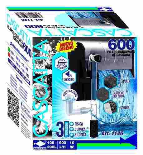 Filtro Cascada Acuaros 600 L/h 2 Pzas 1126
