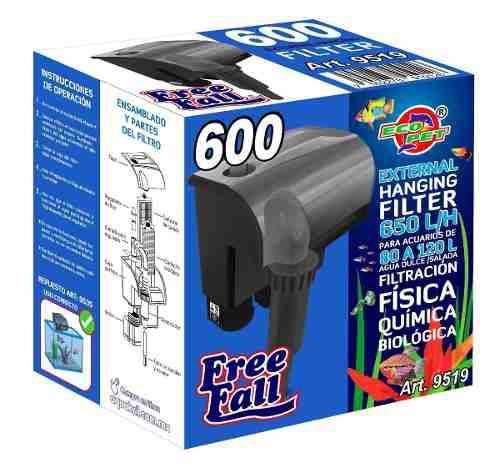 Filtro Cascada Mochila Acuarios Peceras 120 Litros 9519