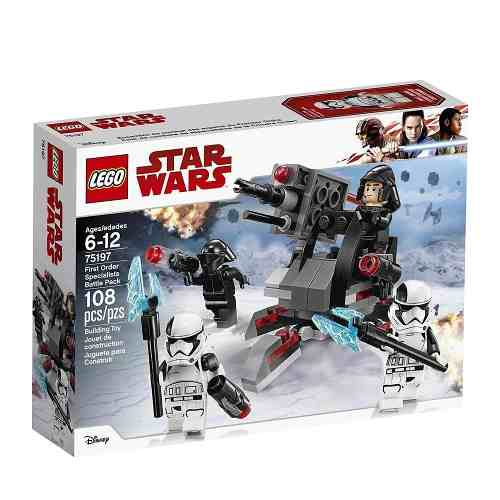 Lego Star Wars Battle Pack Ep8 White Planet Troope