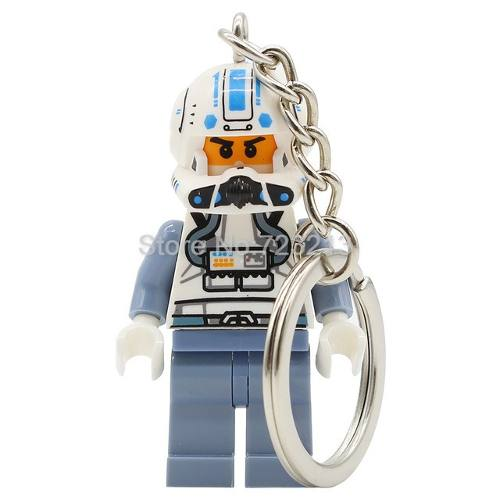 Llavero Lego Starwars, Batman, Darth Vader, Sirenita, Disney