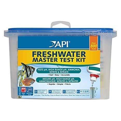 Master Tes Kit Para Acuarios De Agua Dulce Marca Api