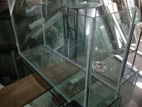 Pecera Rectangular 129cm X 40cm X 70 Cm Vidrio 12mm