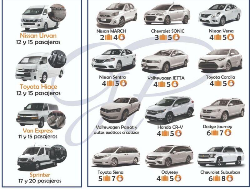 Renta de camionetas y vehículos