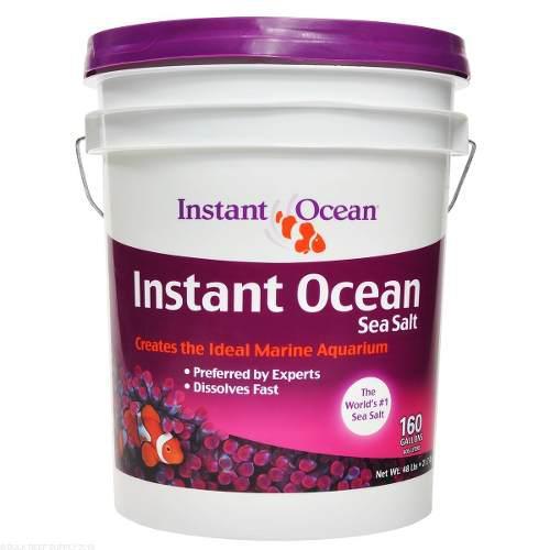 Sal Marina Instant Ocean 160 Gal / 605 Lts Oferta