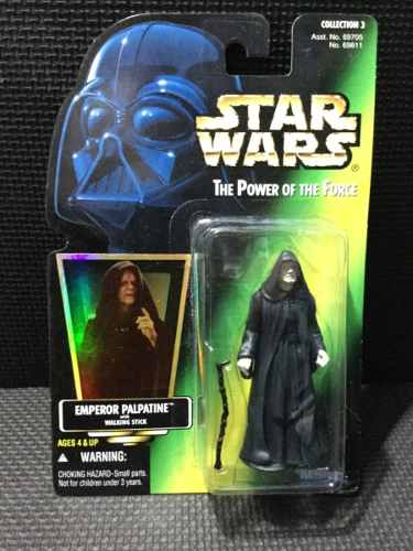 Star Wars Power Of The Force Gold Emperor Palpatine