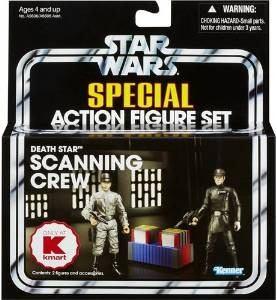 Star Wars Special Action Figure Set Death Star Escaneo Crew