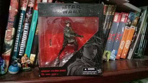 Sweetie Star Wars Black Series 6 Jyn Erso (eadu) Exclusiva