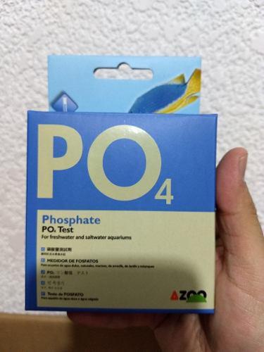 Test De Nitratos Y Fosfato Azoo Agua Dulce Y Salada