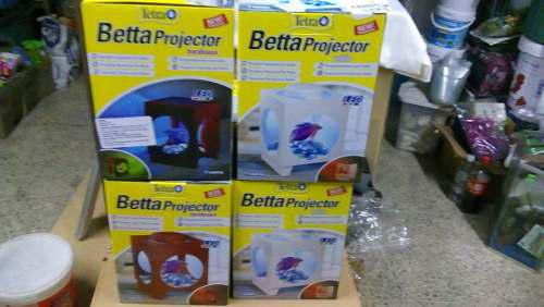 Tetra Betera Proyector Acuario Beta Luz Led Pez 22x16x16
