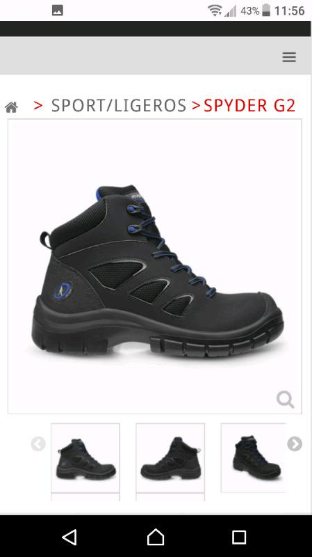 vendo un par de zapatos industriales marca riverland