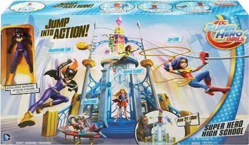 Dc Super Hero Girls High School Playset Batgirl
