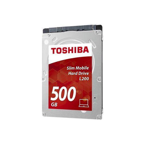 Disco Duro Interno Toshiba 500gb 2.5 / Laptop, 6gb 5400rpm