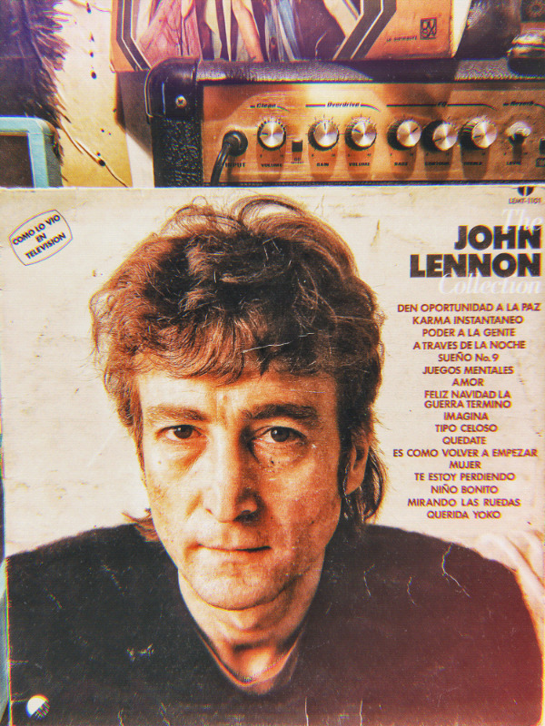 Disco LP vinil acetato 33 rpm the John Lennon collection