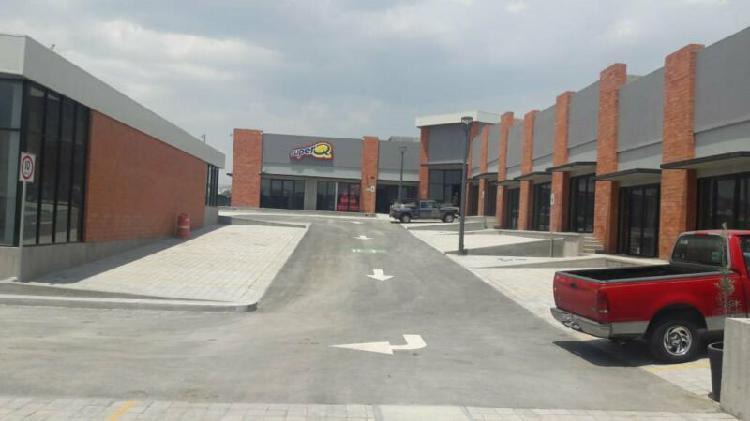 Local nuevo en renta en plaza comercial en juriquilla