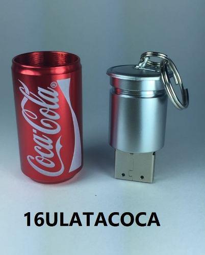 Memoria Usb 16gb Figura Lata Coca Cola