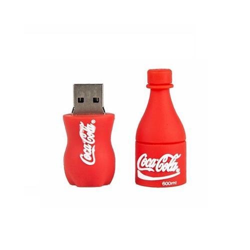 Memoria Usb 16gb Figura Refresco Coca Cola Roja