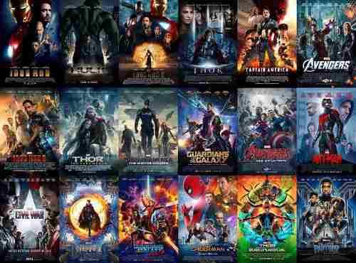 Memoria Usb De 32gb Con Toda La Saga De Peliculas De Marvel