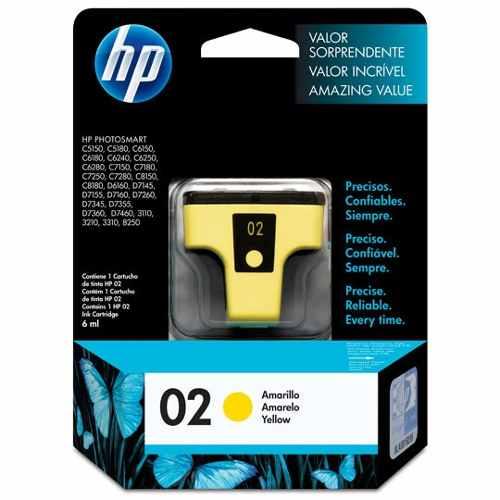 Tinta Hp Amarillo Impresora Ink Jet 02